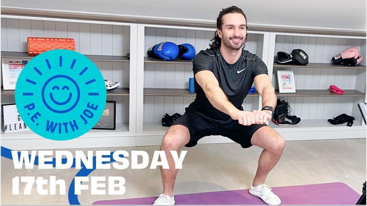 Cara menonton PE dengan Joe Wicks Rabu 17 Februari: The Body Coach LIVE hari ini di YouTube