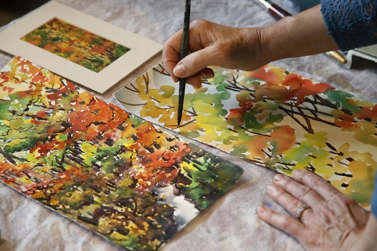 Seri di perpustakaan berfokus pada demonstrasi oleh seniman