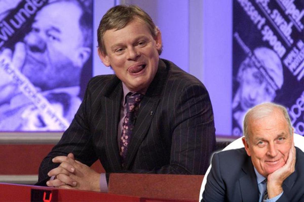 Apakah saya punya berita untuk Anda ... Martin Clunes membencinya ketika lelucon itu ada pada DIA